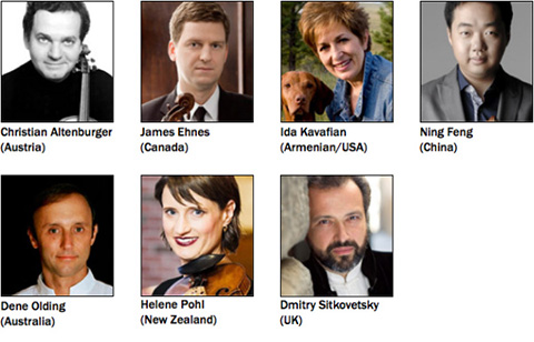 2013 MHIVC International Jury