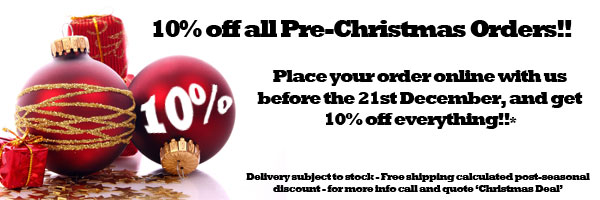 10% off everything in store until 21st December 2011