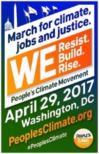 People's Climate March - Washington DC April 29th