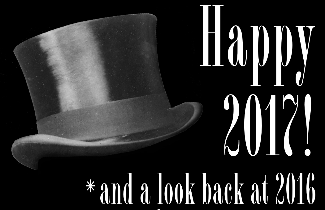 Happy New Year! And a look back on 2016...