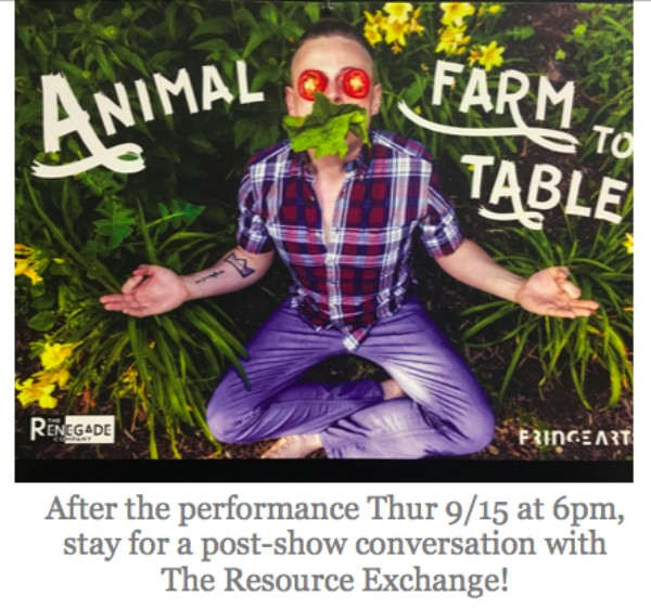 Animal Farm to Table flyer