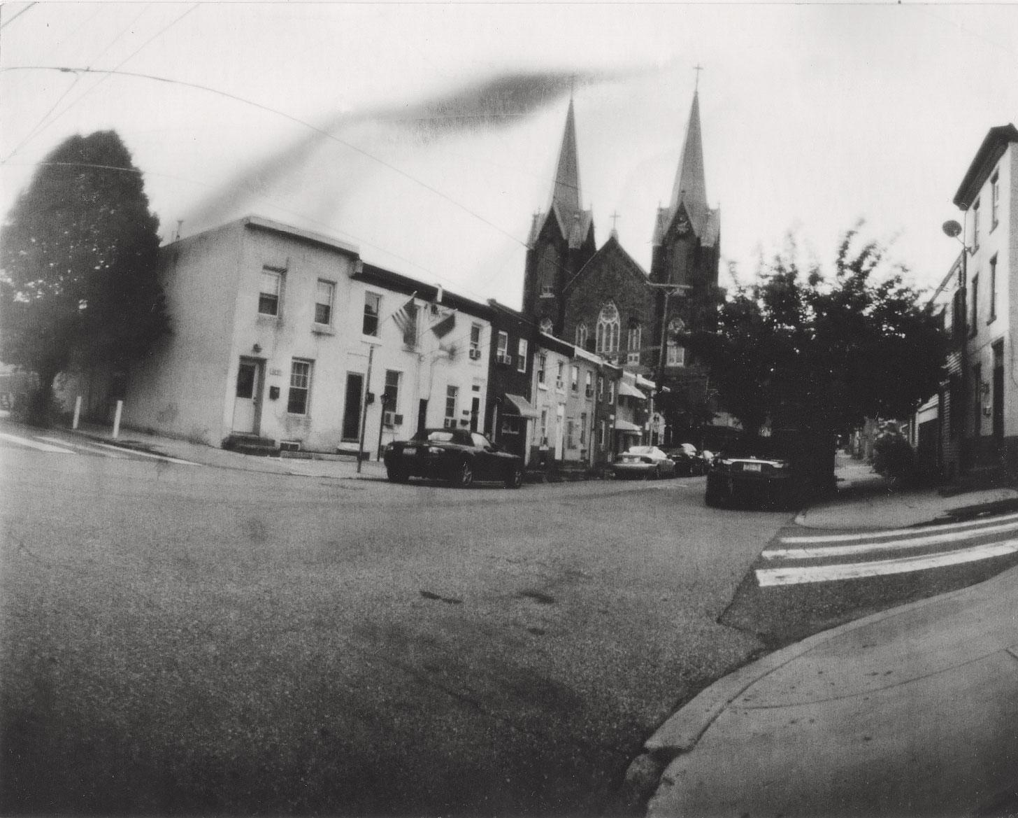 pinhole photo of Fishtown