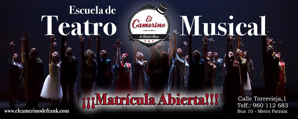 Nuevos grupos 2019 en El Camerino. Teatro Musical.