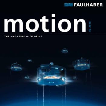 Faulhaber Motion magazine issue 2018.2