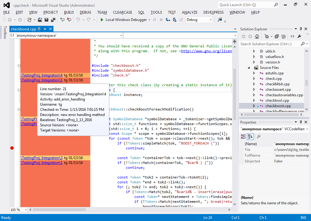 Visual Studio Extension C++