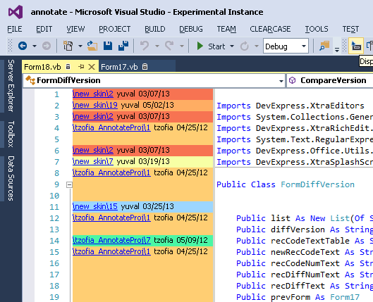 Visual Studio Extension for ClearCase