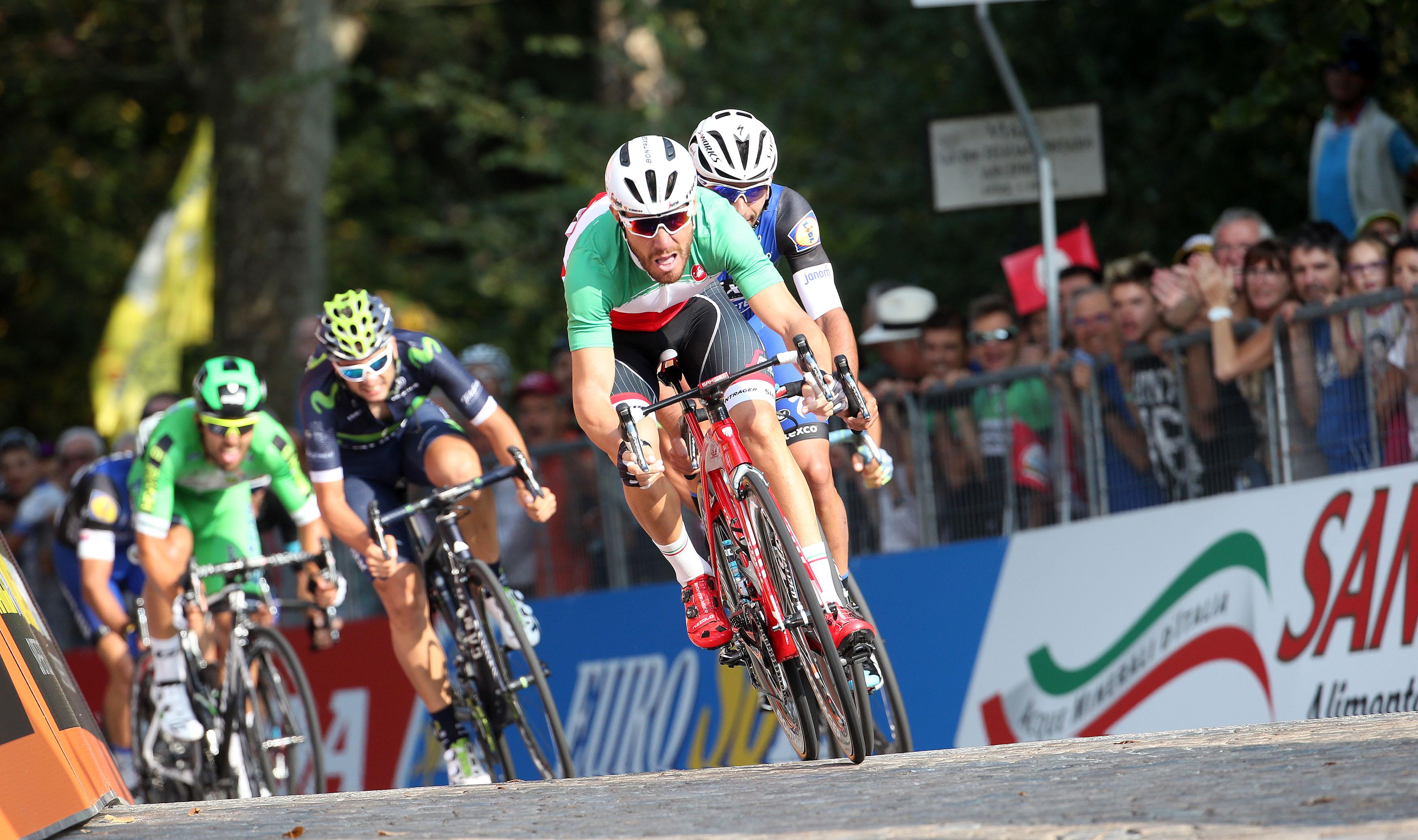 Giacomo Nizzolo wins Giro del Piemonte - © ANSA - Peri / Bazzi