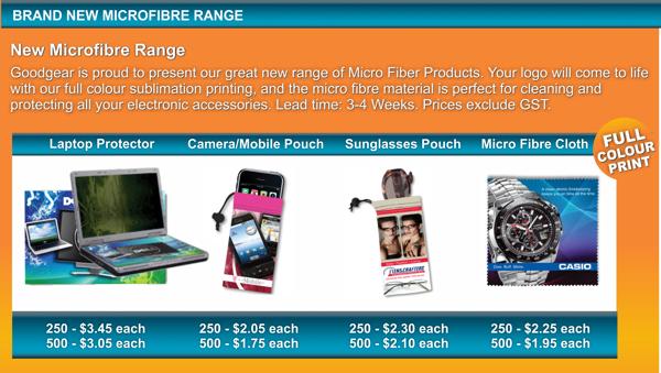 New Microfibre Range