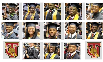 Golden Tiger Athletes completing degree in 2015
