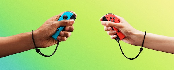 Two Joy-Con Controllers