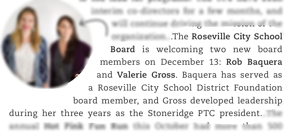 Roseville City School Board welcoming two new members December 13