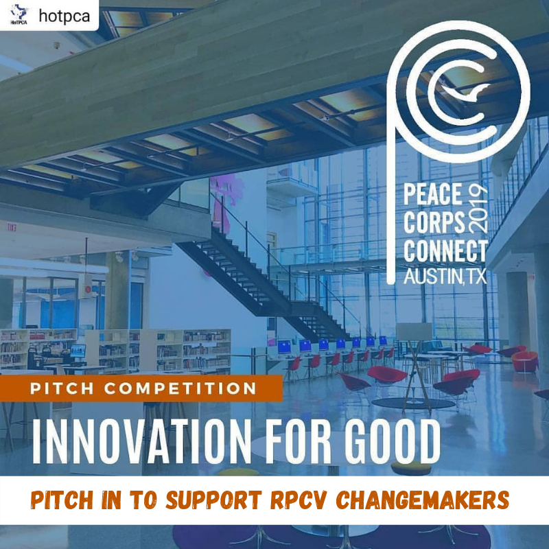 pitch in to rpcv changemakers