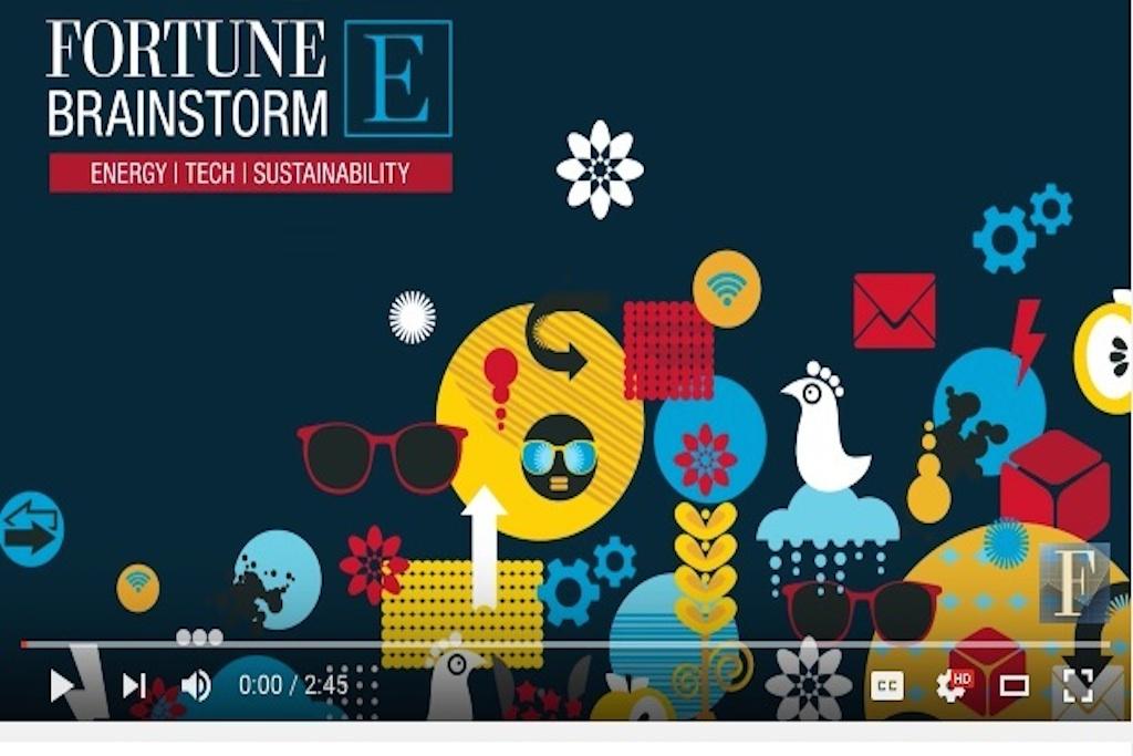 Graphic: Fortune Magazine Brainstorm Energy 2016