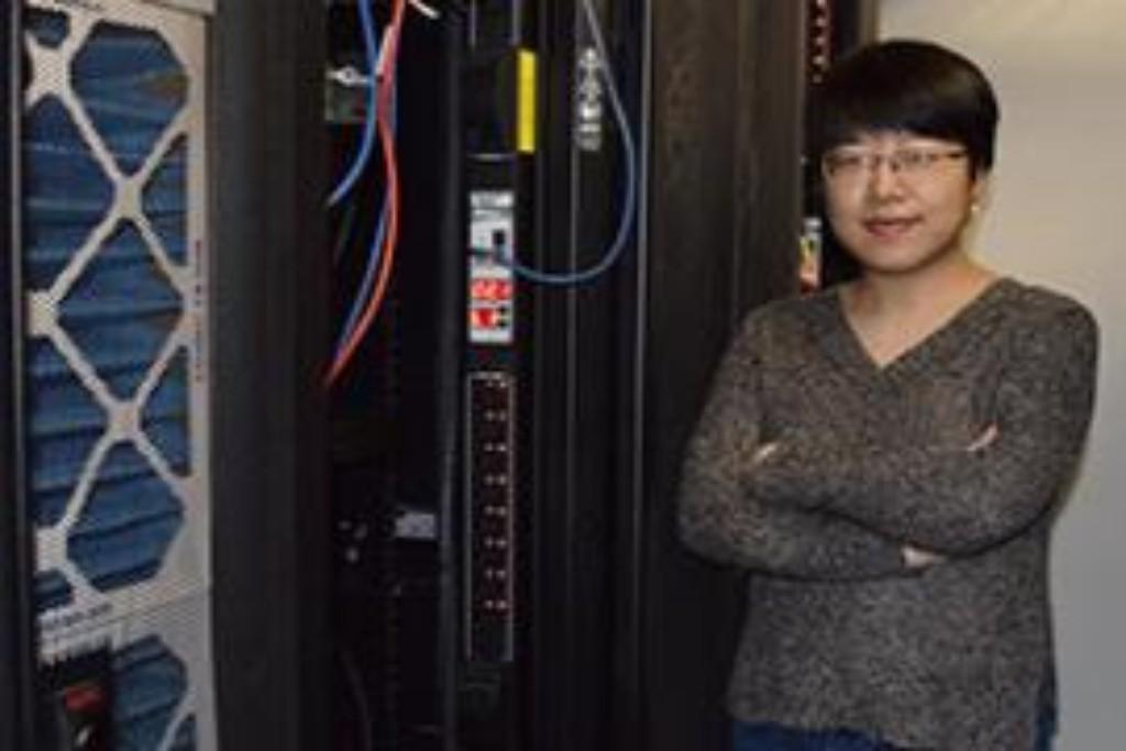 Photo: Stanford PhD student Yao Li. Credit: Linda Rice