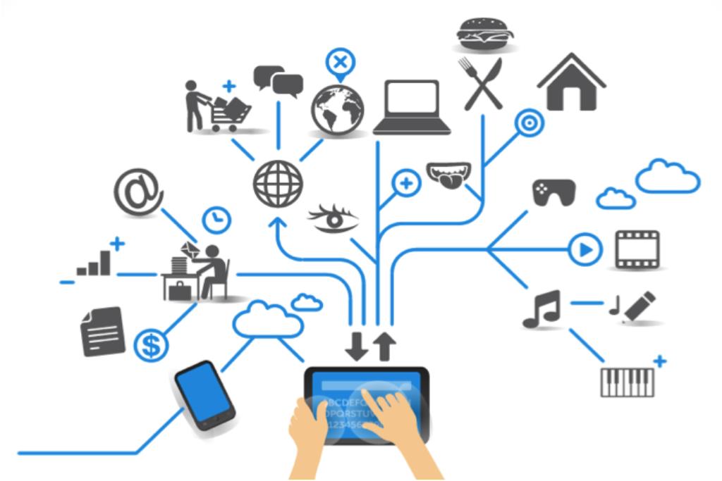 Artist's rendering of the Internet of Things. Courtesy: Sachin Katti/Stanford University