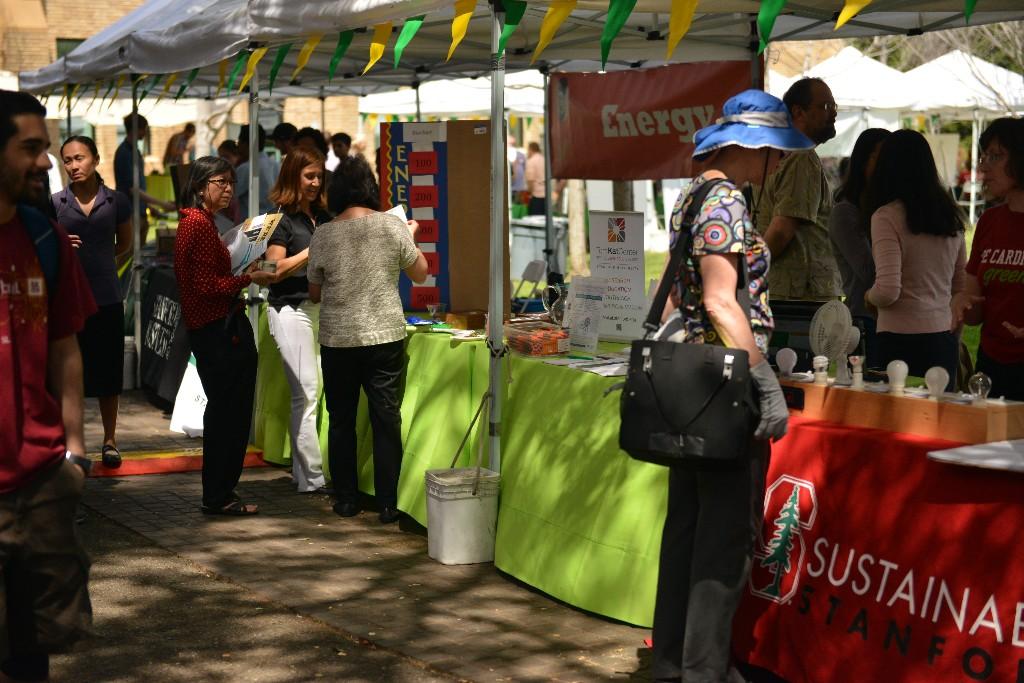 Photo: Stanford Sustainability Fair 2016. Credit: Mark Shwartz, Stanford University