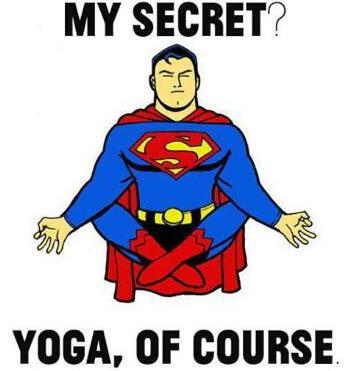 Superman's secret....