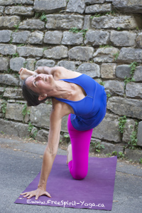 Annette Yoga Pose Italy Retreat