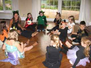 Helloween Yoga Kids