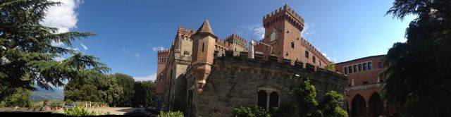Heart opening yoga in a magic 1,000 year old castle in Tuscany
