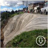 Concrete Canvas Slope Protection in Colombia