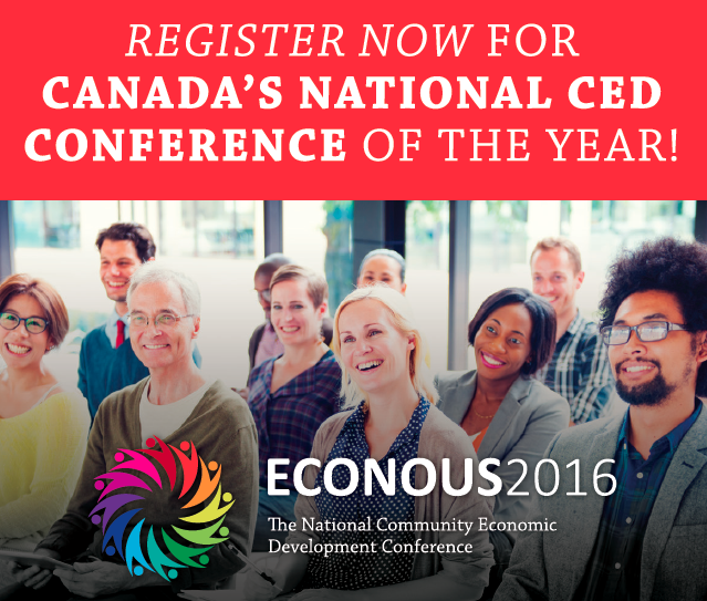Register now for Canada's National CED Conference of the year!