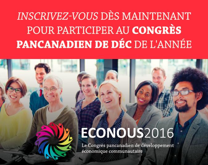 Inscrivez-vous dès maintenant pour participer au Congrès pancanadien de DÉC de l'année