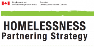 HOMELESSNESS Partnering Strategy