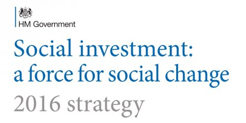 Social investment: a force for social change (2016 Strategy)
