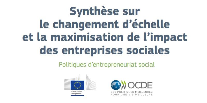 Synthèse sur le changement d'échelle et la maximisation de l'impact des entreprises sociales