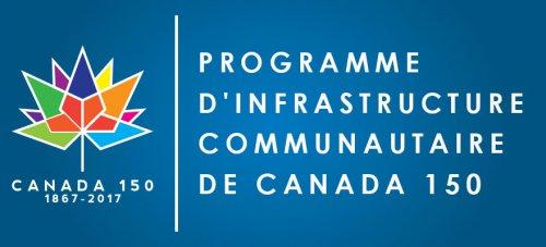 Programme d'infrastructure communautaire de Canada 150