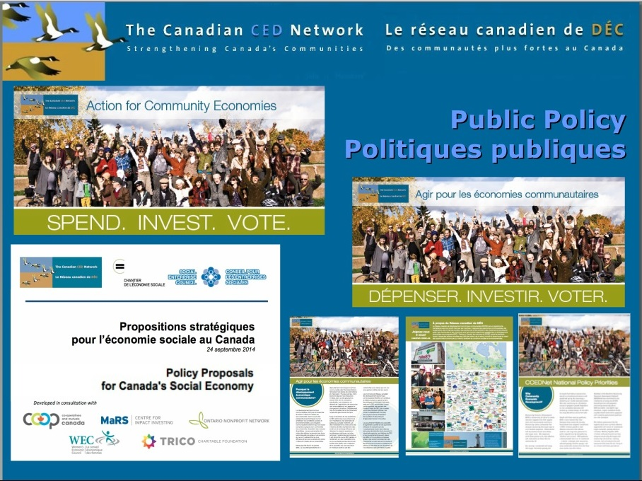 Public Policy Report at CCEDNet's AGM