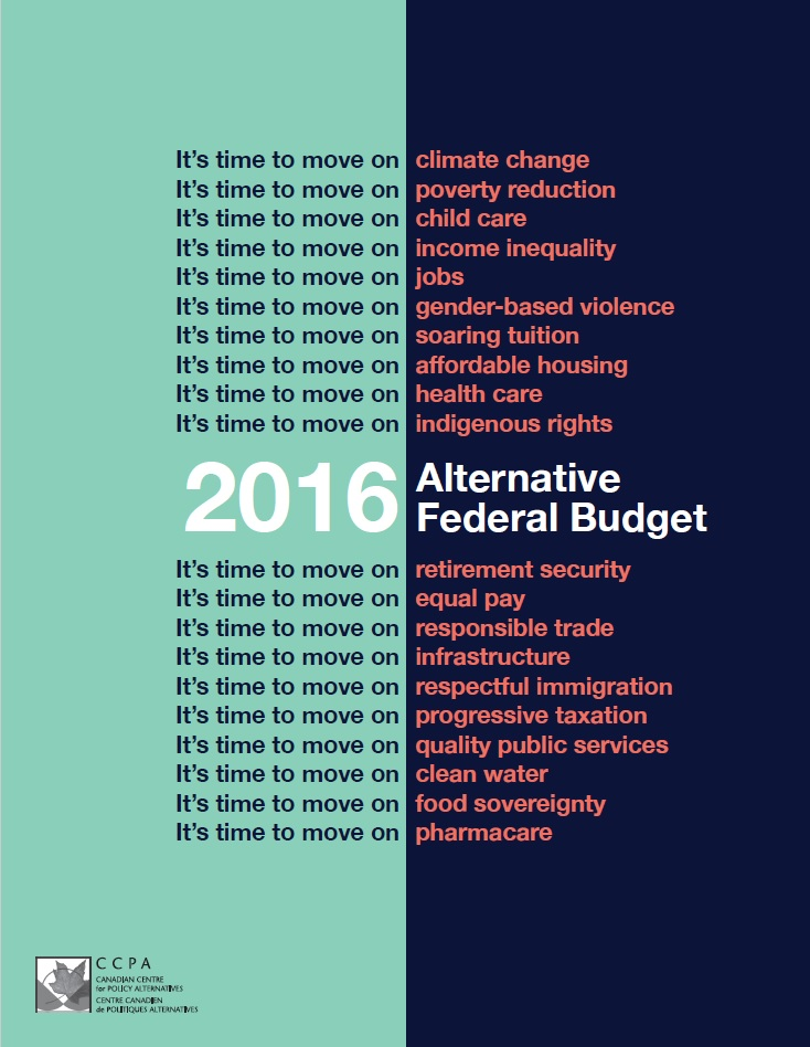 2016 Alternative Federal Budget
