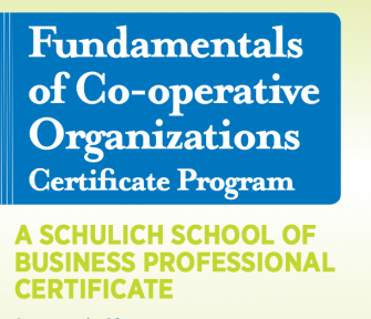 Fundamentals of Co-operative Organizations Certificate Program