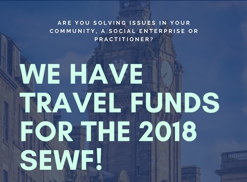 We have travel funds for the 2018 SEWF