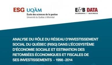 Impacts sociaux et économiques des investissements du RISQ