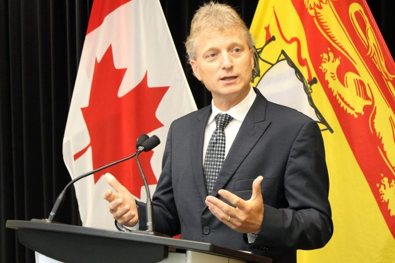 NB Finance Minister Roger Melanson