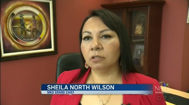 Sheila North Wilson, MKO Grand Chief