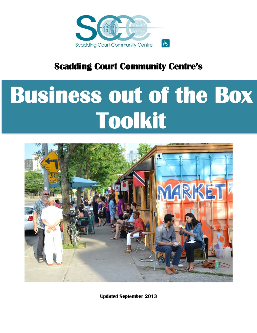 Business out the Box Toolkit