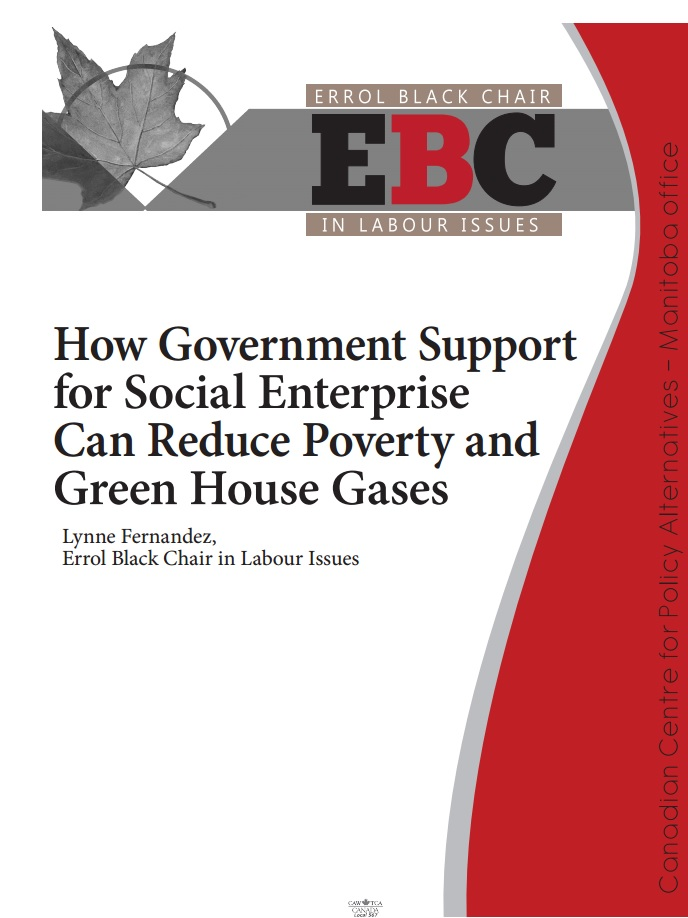 How Government Support for Social Enterprise Can Reduce Poverty & Green House Gases