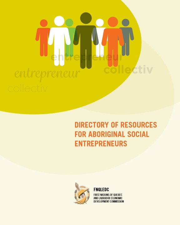Directory of Resources for Aboriginal Social Entrepreneurs