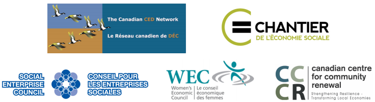 Logos of signatories on letter to Hon. Stéphane Dion