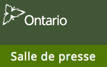 Salle de presse de l'Ontario