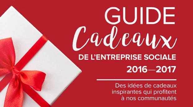 Guide Cadeaux de l'entreprise sociale