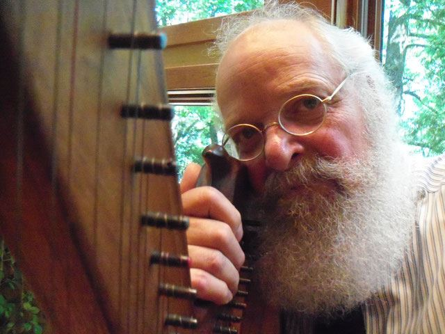 Celtic Harpist Jeff Pockat