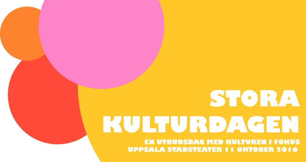 Stora Kulturdagen den 11 oktober 2016