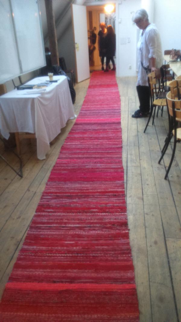 Wiks teaterelever på röda mattan