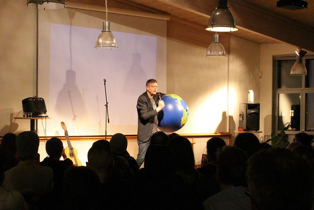 Staffan Lindberg på Uppsala folkhögskola