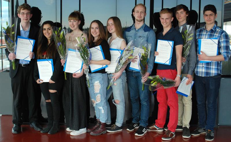 2015 års Ungdomsstipendiater inom sex konstområden