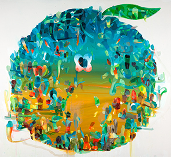 Apple, konstnär: Peter Köhler